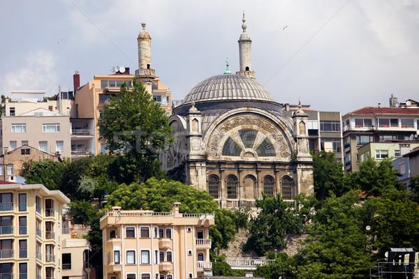 Moschea Istanbul Turchia costruzione città viaggio Foto d'archivio © rognar
