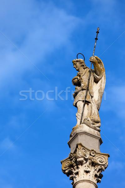 Triumph of Saint Rafael Monument in Cordoba Stock photo © rognar