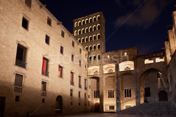 バルセロナ 1泊 パラオ 建物 市 都市 ストックフォト © rognar