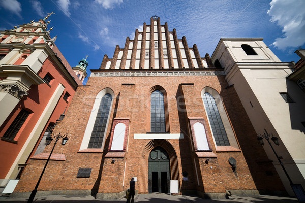 St. John Archcathedral in Warsaw Stock photo © rognar