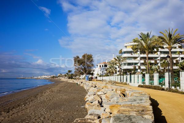 Marbella in Spain Stock photo © rognar