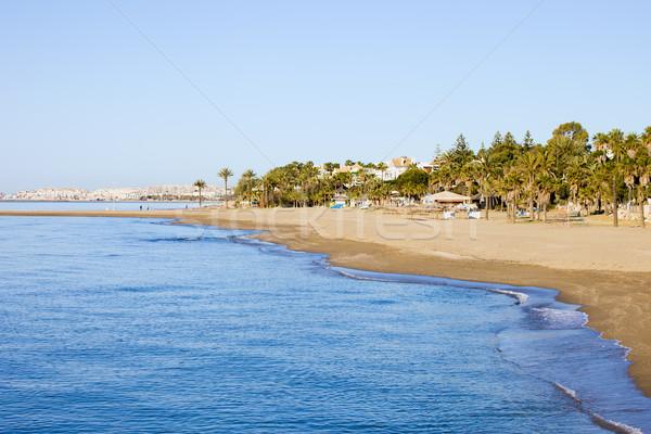 Spanyolország tengerpart mediterrán tenger déli Andalúzia Stock fotó © rognar