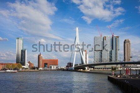 City of Rotterdam Downtown Stock photo © rognar