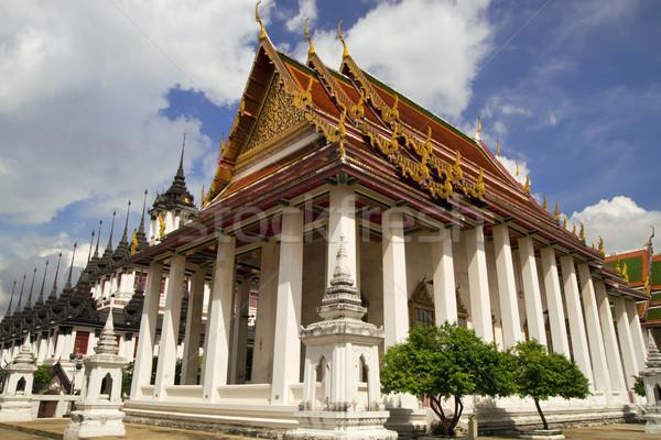Stock photo: Wat Ratchanatdaram in Bangkok