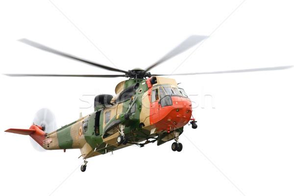 Redding helikopter geïsoleerd witte achtergrond helpen Stockfoto © rognar