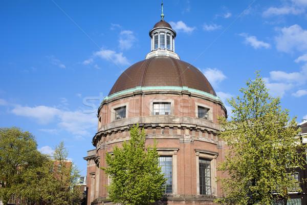 Round Lutheran Church in Amsterdam Stock photo © rognar