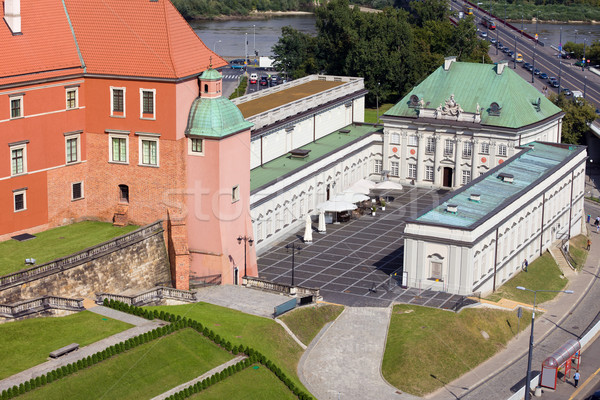 Pod Blacha Palace in Warsaw Stock photo © rognar