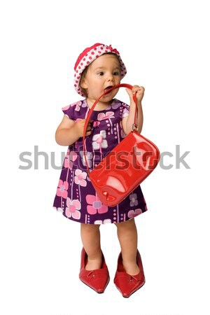 Stock photo: Baby Girl Fashion