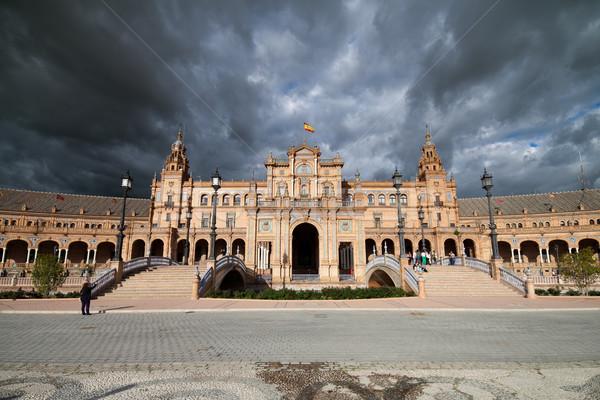 Plaza de Espana in Seville Stock photo © rognar