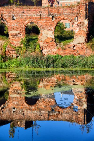 здании разрушенный Мир войны руин Сток-фото © rognar