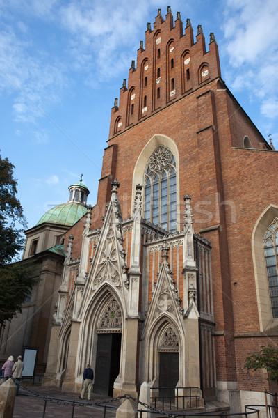 Church Of The Holy Trinity in Krakow Stock photo © rognar
