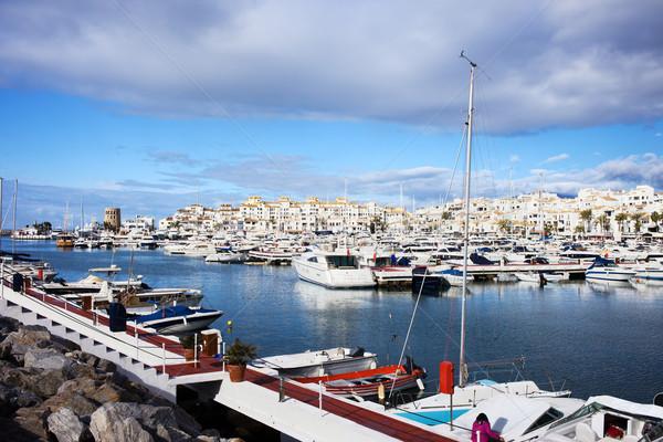 ストックフォト: 高級 · マリーナ · スペイン · 地域 · マラガ