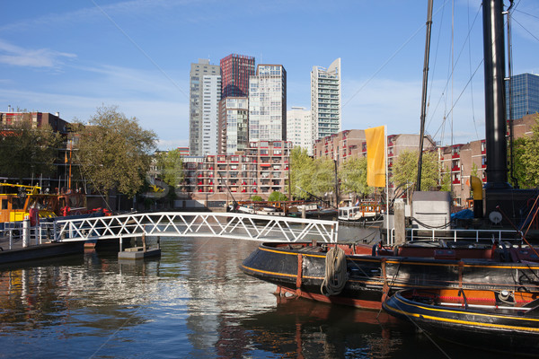 City Centre of Rotterdam in Netherlands Stock photo © rognar