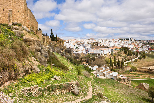 Stock photo: Ronda Town in Andalucia