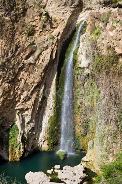 Waterfall in Ronda Stock photo © rognar