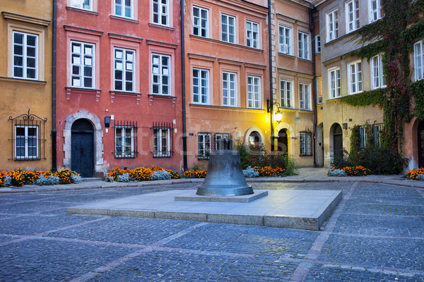 Kanonia Square in the Old Town of Warsaw Stock photo © rognar