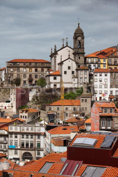 ポルトガル 市 建物 アーキテクチャ ヨーロッパ ストックフォト © rognar