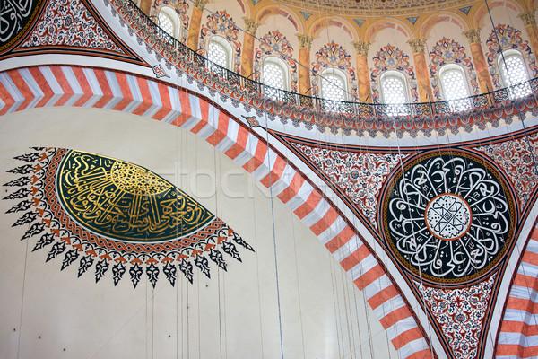 Сток-фото: мечети · интерьер · архитектура · Стамбуле · Турция