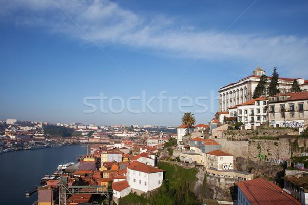 Paisaje urbano Portugal vista histórico ciudad centro Foto stock © rognar