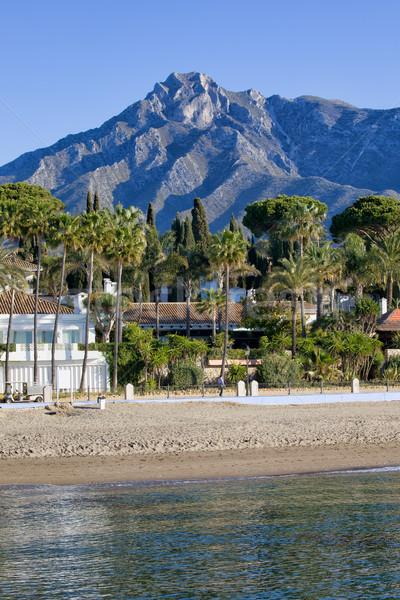 ビーチ スペイン リゾート 市 アンダルシア 地域 ストックフォト © rognar