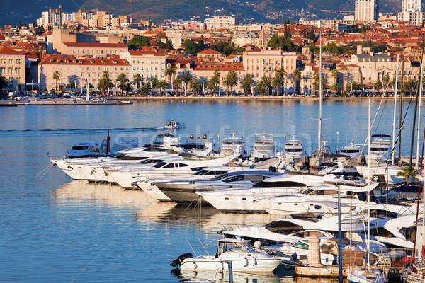 Split Cityscape Stock photo © rognar