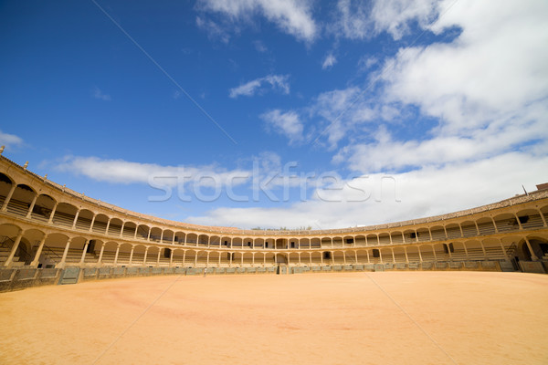 Ronda Bullfighting Arena in Spain Stock photo © rognar