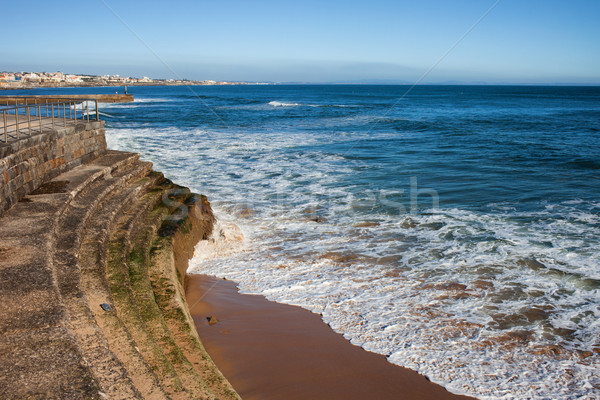 Embankment by the Atlantic Ocean Stock photo © rognar