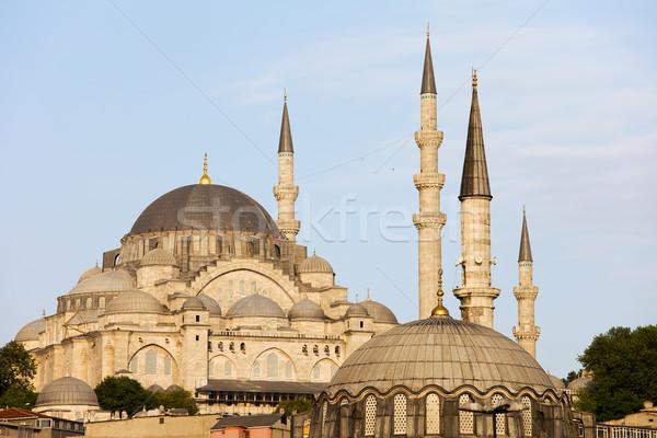 Moschea Istanbul architettura storica Turchia costruzione città Foto d'archivio © rognar