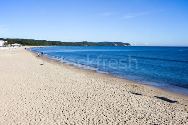 Balti-tenger part homokos tengerpart déli vízpart város Stock fotó © rognar