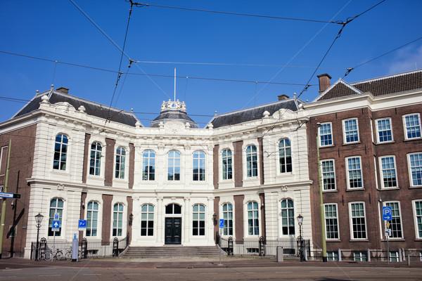 Kneuterdijk Palace in the Hague Stock photo © rognar