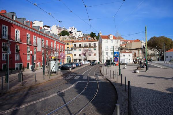 Portas do Sol in the City of Lisbon Stock photo © rognar