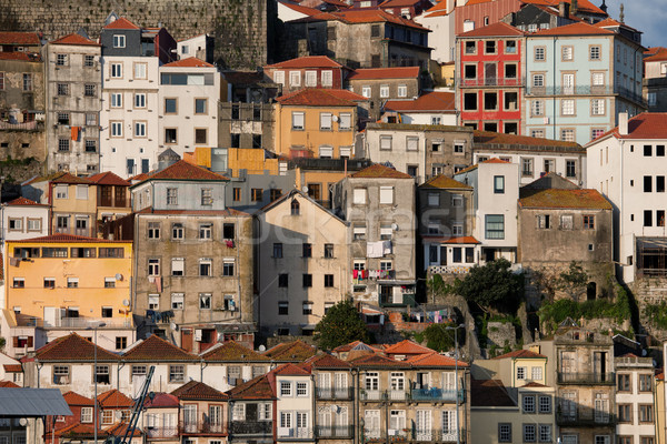 Houses of Porto in Portugal Stock photo © rognar