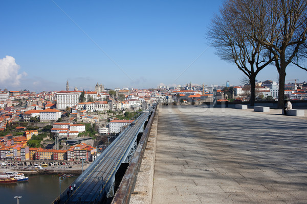 City of Porto in Portugal from Serra do Pilar Viewpoint  Stock photo © rognar