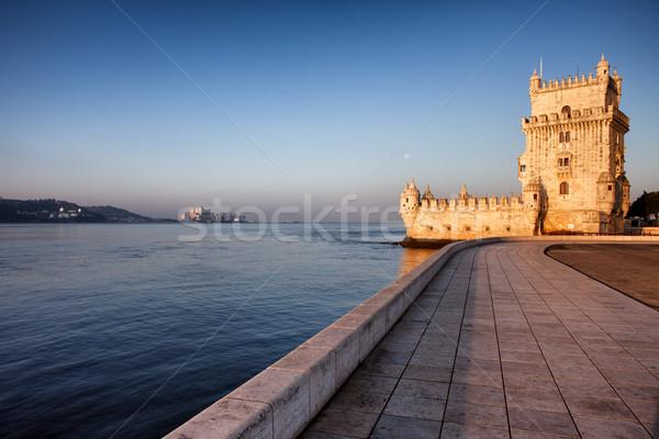 Belem Tower in Lisbon Stock photo © rognar