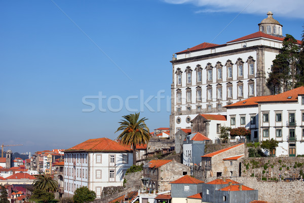 Palazzo cityscape Portogallo costruzione edifici architettura Foto d'archivio © rognar