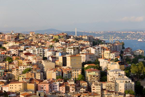 Beyoglu District in Istanbul Stock photo © rognar