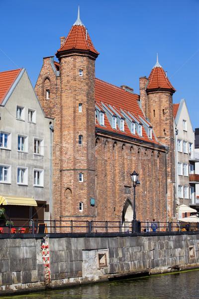 Vendors Gate in Gdansk Stock photo © rognar