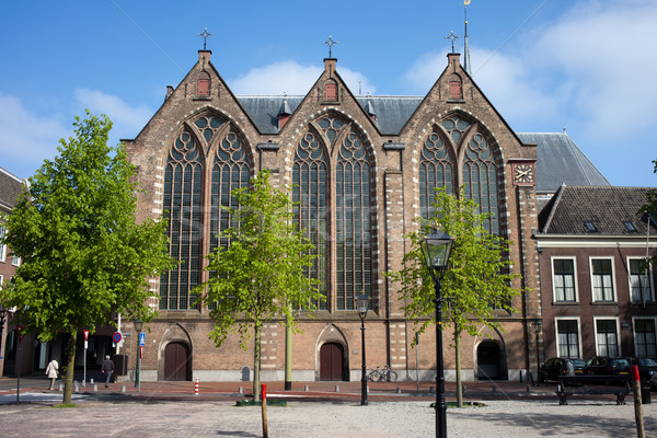 Kloosterkerk in The Hague Stock photo © rognar