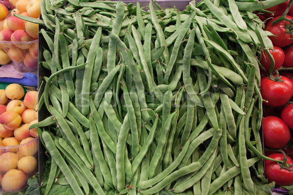 Beans Stall in a Grocery Store Stock photo © rognar