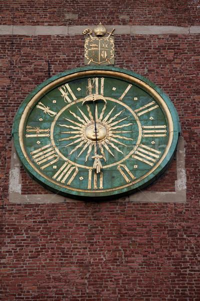 óra katedrális harang torony Krakkó Lengyelország Stock fotó © rognar