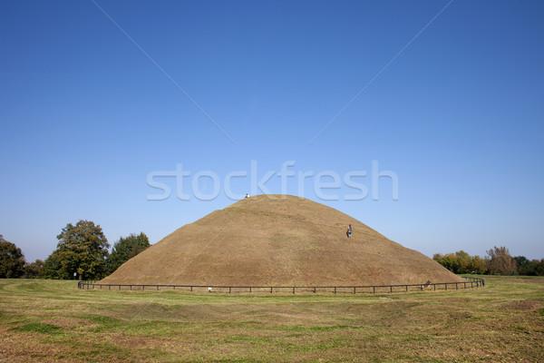 Polska starożytnych tajemniczy miasta Hill Zdjęcia stock © rognar