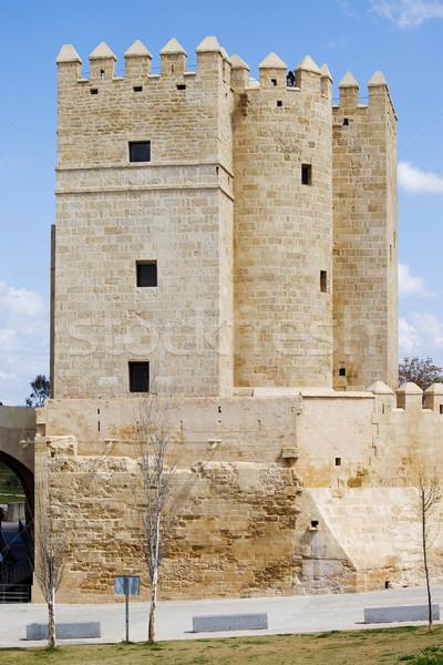 Stock photo: Calahorra Tower in Cordoba