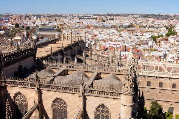 Seville Cityscape Stock photo © rognar
