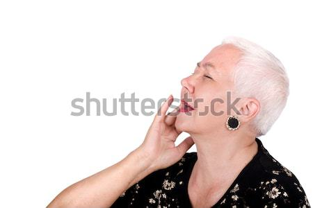 Old Lady Having Toothache Stock photo © rognar