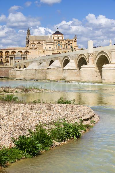 Stock photo: Roman Bridge on Guadalquivir River