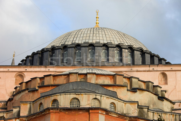 Byzantine Architecture of the Hagia Sophia Stock photo © rognar