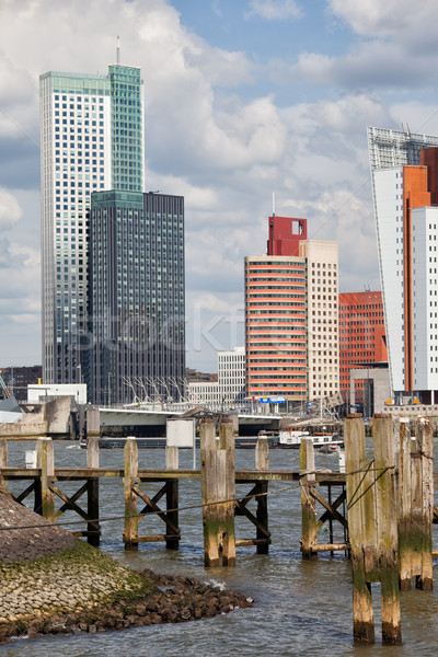 Rotterdam Downtown Skyline Stock photo © rognar