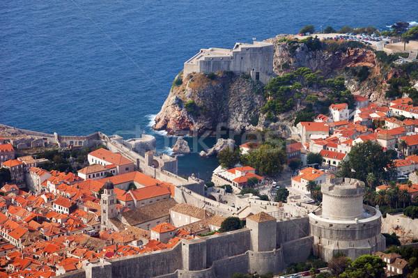 Fort vecchio città dubrovnik Croazia meridionale Foto d'archivio © rognar