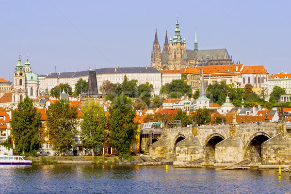 Prague in Czech Republic Stock photo © rognar