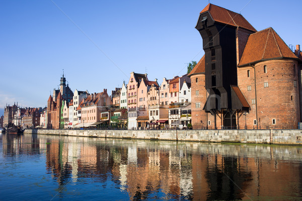 Stock photo: City of Gdansk